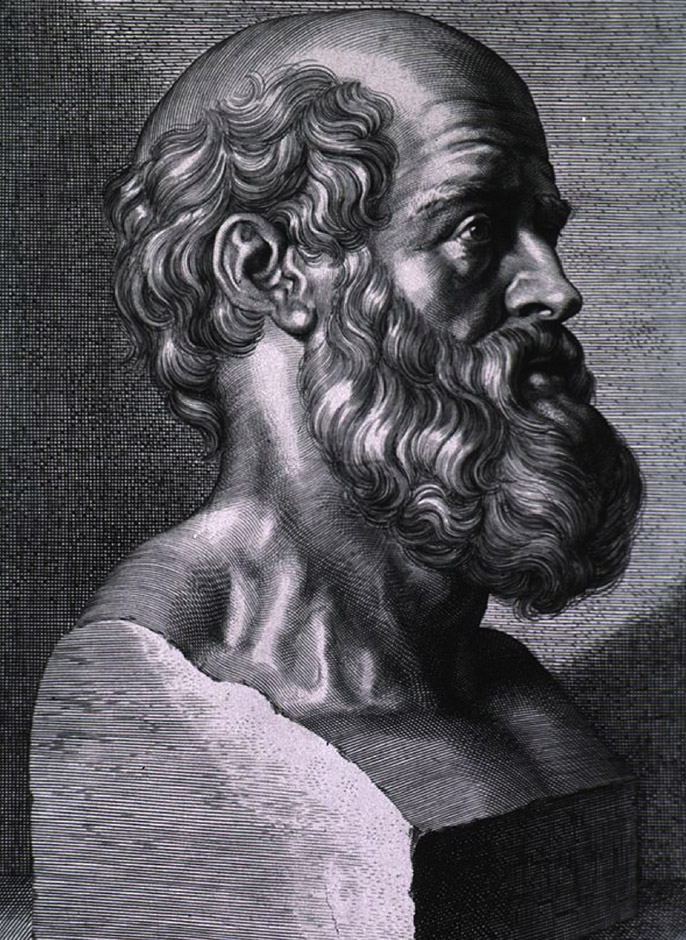 Hippocrates 460BC - 370BC (90 Years of Age)